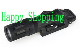 Wholesale White Led Strobe - Tactical Flashlight 500 Lumens White Multifunction with Constant Momentary Strobe Mounted WML Light Fits 21mm Rails