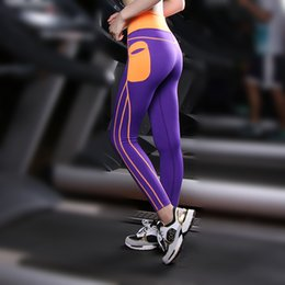 Wholesale Cheap Nylon Tights - Wholesale-Women Sport Tights Cheap Running TightsYoga Pant Fitness Clothing Yoga Tights Running Tight Women Legging