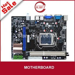 Wholesale E Sata Connector - fulll tested good work brand new Dual channel 4x SATA 3Gb s connector h61 lga1155 ddr3 ram motherboard