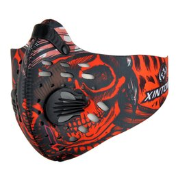 Wholesale Mask Masque - Wholesale-New Arrivals Outdoor Training Sports Cycling Dust Mask Bike Bicycle Masque Nylon Anti PM2.5 Running Sportswear