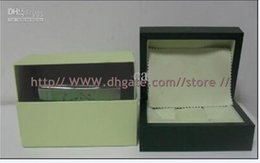 Wholesale Luxury Ladies Watch Box - Luxury Datejust Watch With Original Green Box Papers Boxes&Cases Mens Men's Ladies Women's Watches