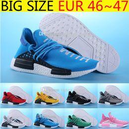 Wholesale Drop Shipping Shop - Drop Shopping High Original Quality Shoes NMD HUMAN RACE Pharrell Williams X NMD Shoes man & women New Arrivals Sneakers Drop Free Shipping