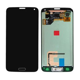 Wholesale Original Replacement Screen Glass - For Samsung Galaxy S5 i9600 LCD Digitizer Front Assembly Replacement Original LCD Touch Screen Glass Panel