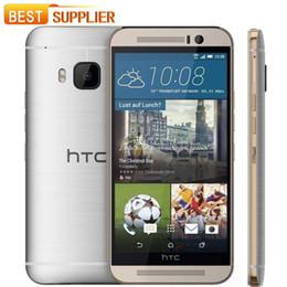 "Telefones touchscreen on-line-Original htc one m9 desbloqueado telefone móvel quad-core 5.0 ""TouchScreen Android GPS WIFI 3 GB RAM 32 GB ROM Livre Shiping"