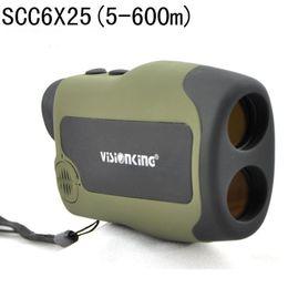 Wholesale Range Finder Laser - Visionking 6X25CC Range Finder BAK4 Rangefinde Laser Rangefinder Monocular 600 m Telescopes For Hunting Ranger Finder Free Ship