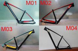 Wholesale Mtb Carbon Frame 17 - 29ER carbon mountain frame 142*12mm thru-alex or 135*9mm carbon mtb frame 15 17 19 inch carbon frame for mountain bike