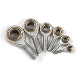 Wholesale Fishing Choice - Wholesale- New Professional 8pcs Set M6 M8 M10 M12 Choice Fish eye Ball Bearing for hydraulic cylinder High Quality Bearings