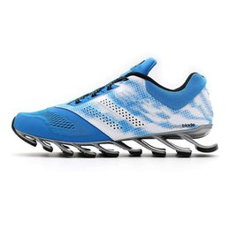 Wholesale Shoes Sneakers Shape Ups - Spring Blade Shape Razor Running Jogging Sneakers Fashion Springblade Sport Outdoor Athletic Trainer Shoes for kids