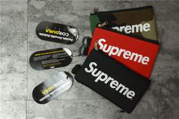 Wholesale camo pouch - Moblie Pouch wallet bag 16FW black red camo color