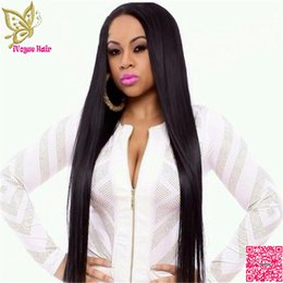 Wholesale Remy U Part Wig - Virgin Peruvian Silky Straight U Part Wigs Human Hair Unprocessed Remy Hair Upart Wigs With Clips or Combs U Shaped Wig
