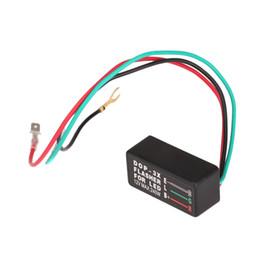 Wholesale Car Relays Signal - Universal Car Turn Signal Indicator Brake Light Motorcycle 12V LED Halogen Turn Signal Light Flasher Blinker Relay Blinker 3 Pin order<$18no