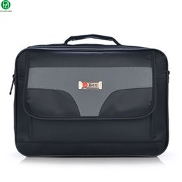 Wholesale Male Handbags Casual - Wholesale- hot sale men briefcase business casual handbag England Style men messenger bags vintage crossbody shoulder Laptop bag for male
