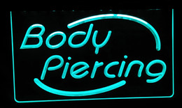 Wholesale Display Body Piercing - LS188-g Body Piercing Tattoo Display Light Sign