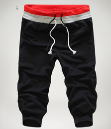 Wholesale Youth Pants Wholesale - Wholesale-New Hot summer Spring men's casual pants men's pant popular youth sports pants male beach pants Men's Clothing