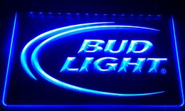 Wholesale Neon Lights Logo - LS006-b Bud Lite Beer Bar Pub Club Logo Neon Light Signs
