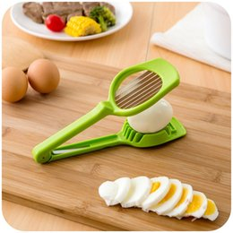 funghi utilizza Sconti Popular Fungo Egg Tomato Slicer Multi Function Attrezzo da cucina Plastica Manuale Facile da usare Eggs Cutter Top Quality 5bk B
