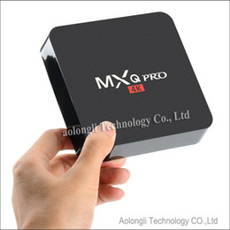 Wholesale Flash Media Box - S905 MXQ Pro 4K TV Box Quad Core Android 5.1 DDR3 1G Nand Flash 8G HDMI 2.0 WIFI Box Smart TV Box Media Player