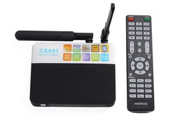 Wholesale Arm Hdmi - CSA93 Amlogic S912 Android TV Box Octa core ARM Cortex-A53 2G 16G Android 7.1 TV Box WiFi BT4.0 2.4G 5.8G H.265 4K Media Player