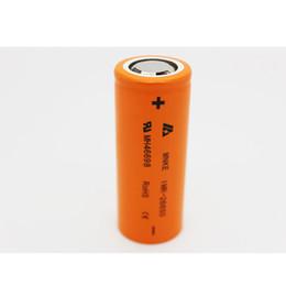 Linterna mods online-MNKE 26650 Batería de linterna 3.7 V 3500 mAh Batería de ión de litio recargable de alta capacidad Adaptador de vapor LED Flashligh Mods Fedex