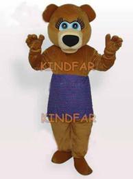 2019 mascote amor Atacado-Novo Urso Amor Adult Mascot Costume Professional Fancy Dress Partido Dos Desenhos Animados Outfits Suit Frete Grátis mascote amor barato