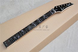 Wholesale Guitar Flowers - Firehawks 7 v guitar neck Rosewood fingerboard, the flower of life set after four grooves