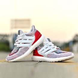 Wholesale Cheap Footballs Shoes - Ultra Boost Multicolor 2.0 Running Shoes Mens and Womens Sneakers Soft Walking Shoes Discount Cheap Causal Shoes Sneakers