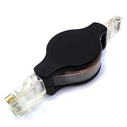 Wholesale Rj45 Retractable - 1Pcs NEW 5ft 1.5M Retractable Ethernet Cat5 RJ45 8P Internet Network LAN Cable GSCP2161 free ship