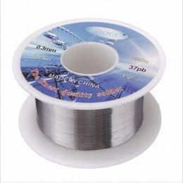 Wholesale Rosin Core Wire - 63 37 0.3mm 30g Tin Lead Rosin Core Soldering Iron Wire Reel