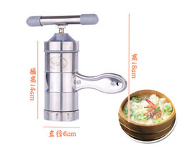 Wholesale Manual Noodle Machine - Stainless Steel Noodle Maker With 5 Models Manual Noodles Press Pasta Machine Kitchen Tools Vegetable Fruit Juicer