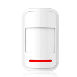 Wholesale Wireless Gsm Pstn Alarm System - 1Pcs High-grade 433MHz Wireless Infrared detector PIR Motion Sensor for WIFI GSM PSTN Auto Dial Home Security Alarm System