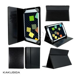 Wholesale Table Pc China - KAKU Universal Luxury PU Stand Flip Cover Case with auto wake sleep For Table PC 7 8 10 inch iPad Galaxy etc with package