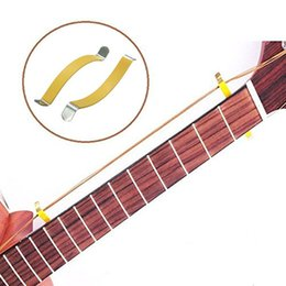 Wholesale Guitar Frets - 1 pair Guitar Bass String Spreader For Polish Cleaning Fretboard Fret Care Luthier Tool