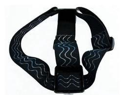 Wholesale Gopro Belt - Wholesale new arrive Elastic Head Strap Adjustable Headstrap Go pro Mount Belt for Gopro Camera Hero 3 2 HD Accessories Black