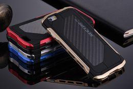 Canada Pour iPhone 8 7 6 6s Plus Coque 4.7 5.5 pouces PRO En Aluminium En Fiber De Carbone Couverture ARMOR Antichoc Facile Installer Offre