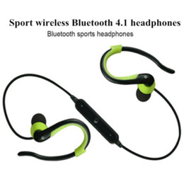 Wholesale Earphone Earbuds Headphone - T-9 New bluetooth headset wireless earphone headphone bluetooth sport running stereo earbuds with microphone auriculares Cheap earbud ea...