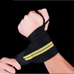 Wholesale Free Running Gear - Sports protective gear badminton winding high pressure elastic wrist men and women sweat fitness exercise dumbbell weightlifting