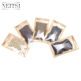 Wholesale China Silicone Beads - Tools Silicone Micro Rings Beads 1000pcs bottle Wholesale Blonde Brown Color China Post Free Shipping