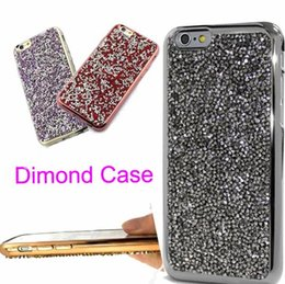 Wholesale Flash Crystal Case - For iphone 7 plus iphone6 Samsung S7 6 5 Bling Bling Case Crystal Luxury Glitter Flash Soft Case iphone 6 S plus Diamond Case SCA133