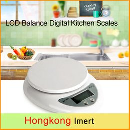 Wholesale Electronic Kitchen Postal Scales - 1PC 5000g 1g LCD Display Weight Balance Digital Kitchen Scales Food Diet Postal Electronic Scale, Versatile Scale Can Be Used in Kitchen