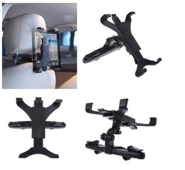 Wholesale Ipad Rotatable - 360 Rotatable Car Back Seat Headrest Support Mount Holder For iPad 7-11 inch headrest for SAMSUNG tab PC Accessories Stands Tablet Seats
