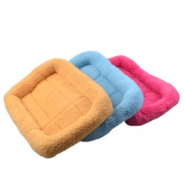 Wholesale Kennel Blanket - Large Dog Beds Warm Winter Dog Bed House Kennel Pet Mat Sofa Standard Durable Comfort Seat Cushion