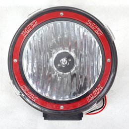 Wholesale Hid 12v Work Lights Kits - Car spare parts 7 inch HID Xenon off road light auto hid xenon lamp 35W hid working lights hid xenon lamp 12V