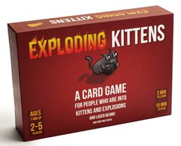 Wholesale Goat Boy - FUN Game Exploding Kittens NSFW Original Edition Card Game Cat Goats Laser Beams Family Friends Bithday Game