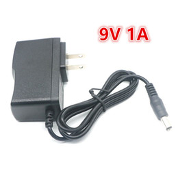 Wholesale Switching Power Supplies Ac Dc - AC 100-240V to For DC 9V 1A 1000mA Switching Power Supply Adapter Charger EU US UK AU Plug Free Shipping