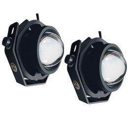 Canada 2 PCS Led Lampe De Brouillard De Voiture Super Lumineux 1000LM Étanche DRL Eagle Eye Lumière Lumières Extérieures Feux de Jour Offre