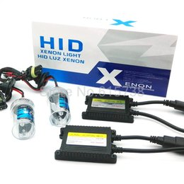 Wholesale Ac Ballast 12v - AC HID KIT SET 12V 35W hid conversion kit hid headlight xenon hid kits slim ballast h1 h3 h7 h9 h10 880 881 9005 9006 H11
