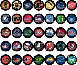 Wholesale christmas hockey - Free shipping Sport Hockey 35pcs   lot glass snap button jewelry charm popper for bracelet GL1085 jewelry making DIY