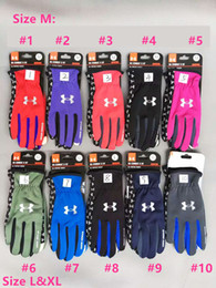 Wholesale Waterproof Touch Screen Gloves - Waterproof Gloves Touch Screen Gloves Outdoor Sport Warm UA Full Finger Guantes Gloves Cell Phone Touch iGloves