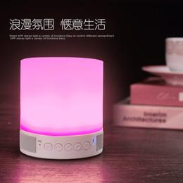 Wholesale Restaurant Button - Bluetooth Smart Music Lamp Bulb Changing LED Lamp Bluetooth Speaker Bulb Bar Restaurant Bedroom Light Cellphone Control Lamp
