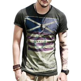 Wholesale Gym T Shirts For Men - Wholesale-Brand New 2016 Summer Fashion Mens Short Sleeve T Shirt Streetwear Tops Hip Hop Gym Casual 3D t-shirt tee shirt homme For Men Z2